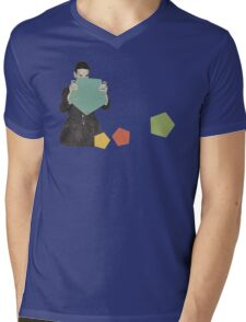 Discovering New Shapes Mens V-Neck T-Shirt