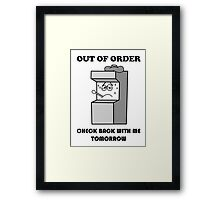 MGM- Out Of Order 2014 Framed Print