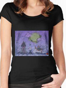 Purple Mist Women's Fitted Scoop T-Shirt