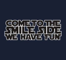 Come to the Smileside (black) Kids Clothes