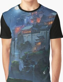 The Fortress Of The People Of The Moon Graphic T-Shirt