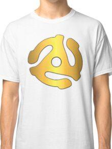 Gold record adapter Classic T-Shirt