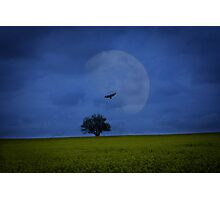 The night shift begins Photographic Print