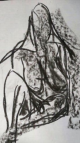 life drawing may by H J Field