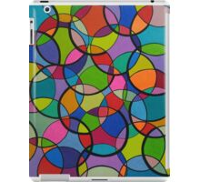 Crazy Circles iPad Case/Skin