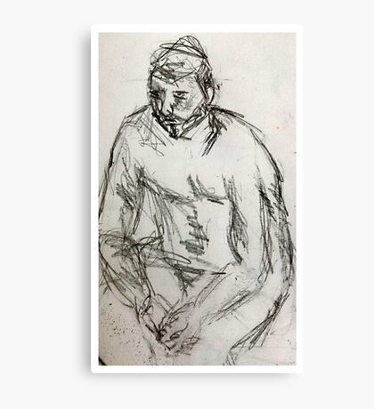 life drawing june Canvas Print