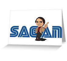 Sagan Logo Greeting Card