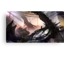 The Nexus of The Lonely Nomad Canvas Print