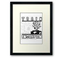 Train Insaiyan - Teen Gohan Framed Print