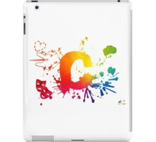 Cosplay Flag/Symbol white iPad Case/Skin