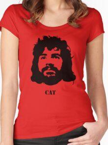Viva la CAT Stevens! Women's Fitted Scoop T-Shirt