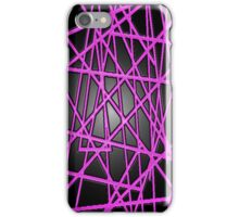 Abstract Phone Case (Pink) iPhone Case/Skin