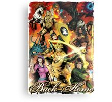 Dungeons & Dragons Back Home Metal Print