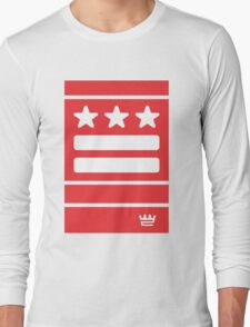 DC Represent (red) Long Sleeve T-Shirt