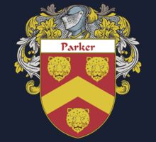 Parker Coat of Arms / Parker Family Crest Kids Tee