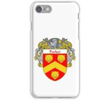 Parker Coat of Arms / Parker Family Crest iPhone Case/Skin