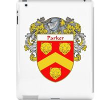 Parker Coat of Arms / Parker Family Crest iPad Case/Skin