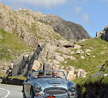 Three Castles Classic Welsh Trial 2014 - Austin Healey ... by Three-Castles