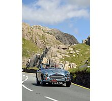 Three Castles Classic Welsh Trial 2014 - Austin Healey ... Photographic Print