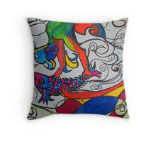 Jumping Fish Throw Pillow