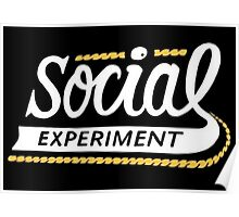 SoX - The Social Experiment Poster