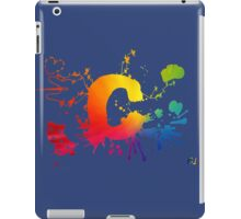 Cosplay Flag/symbol blue iPad Case/Skin