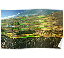 Sacred Valley Of The Incas Poster