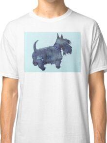 Scottie watercolour (blue) Classic T-Shirt