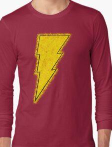 Superhero Spray Paint - Shazam Long Sleeve T-Shirt