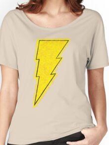 Superhero Spray Paint - Shazam Women's Relaxed Fit T-Shirt