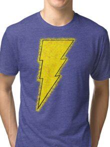 Superhero Spray Paint - Shazam Tri-blend T-Shirt