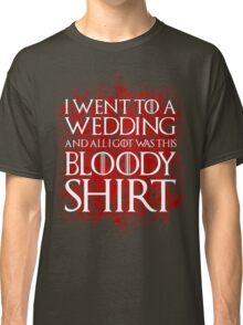 Red Wedding Classic T-Shirt