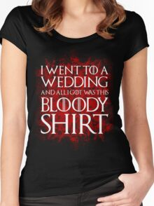 Red Wedding Women's Fitted Scoop T-Shirt