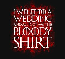 Red Wedding Unisex T-Shirt