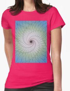 Gemstone Swirls Womens Fitted T-Shirt