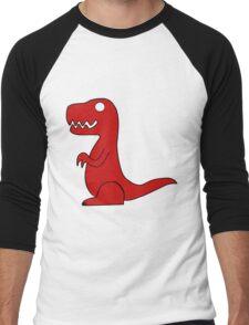 Dino Red Men's Baseball ¾ T-Shirt