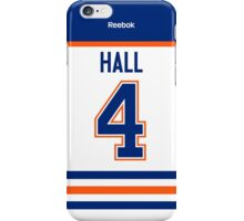 Edmonton Oilers Taylor Hall Away Jersey Back Phone Case iPhone Case/Skin
