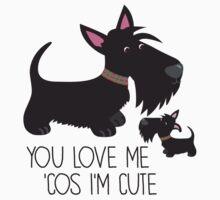 You Love Me . . . Baby Tee