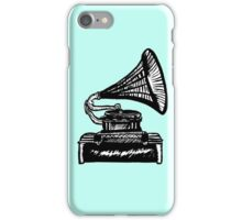 Snazzy Gramophone  iPhone Case/Skin