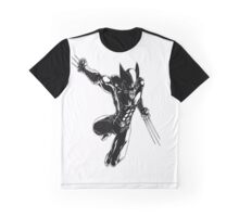 Wolverine badass Graphic T-Shirt