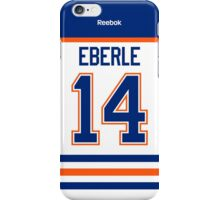 Edmonton Oilers Jordan Eberle Away Jersey Back Phone Case iPhone Case/Skin