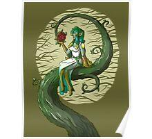 Flower Maiden Poster