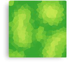 Abstract Greens Canvas Print