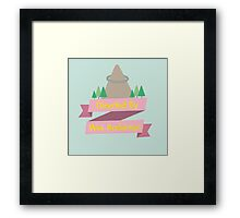 Directed By Wes Anderson Framed Print