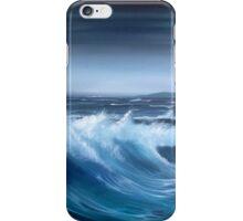 Seascape original oil painting iPhone Case/Skin