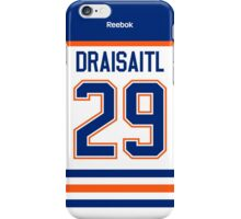 Edmonton Oilers Leon Draisaitl Away Jersey Back Phone Case iPhone Case/Skin