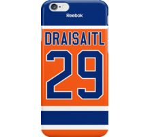 Edmonton Oilers Leon Draisaitl Alternate Jersey Back Phone Case iPhone Case/Skin