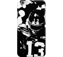 Odell Beckham Jr black and white iPhone Case/Skin