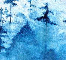 Blue Woods Duvet Sticker