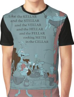 Cooking Meth In The Cellar Graphic T-Shirt